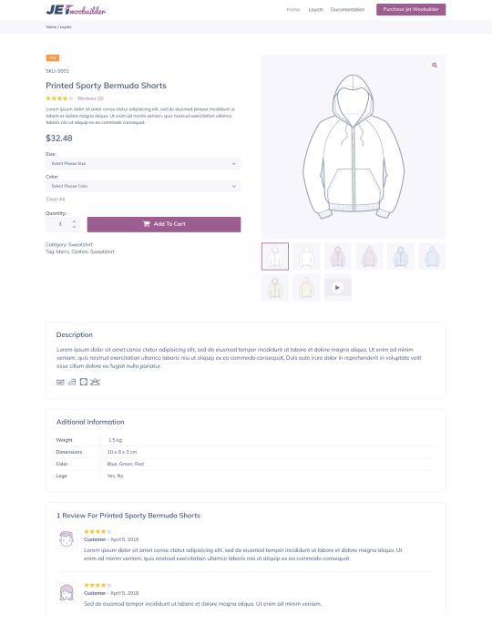 سفارشی سازی صفحه محصولات