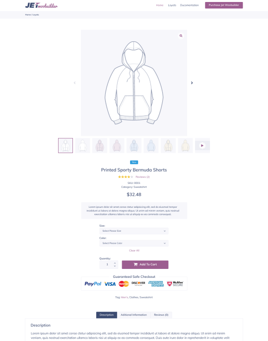 سفارشی سازی صفحه محصولات با افزونه Jetwoobuilder