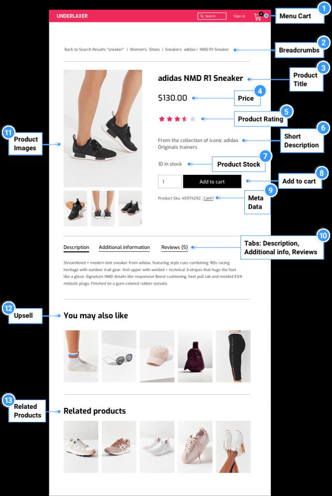 طراحی صفحه محصولات ووکامرس با المنتور