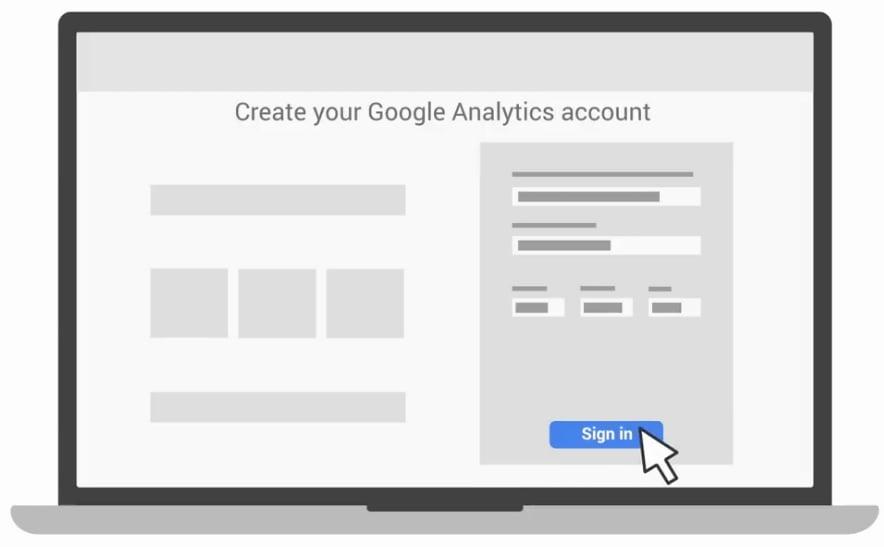 نحوه ایجاد حساب کاربری درگوگل آنالیتیکس
