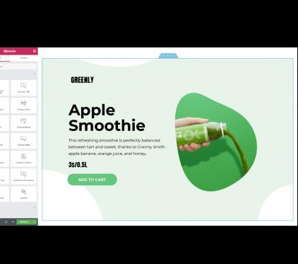 طراحی و توسعه فروشگاه ووکامرس با صفحه ساز المنتور پرو